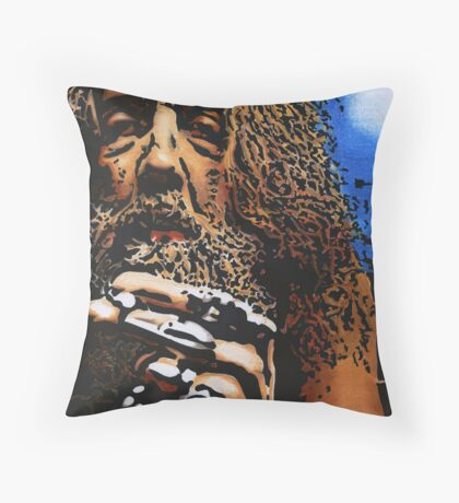Alan Moore Throw Pillow
