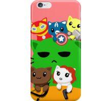 Avengers Kitties iPhone Case/Skin