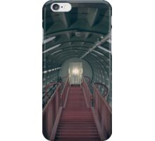 Red stairs iPhone Case/Skin