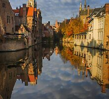 Reflections of Bruges by Chris Fletcher