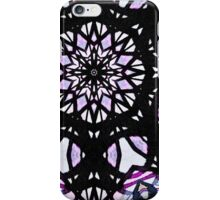 Purple Stained Glass iPhone Case/Skin