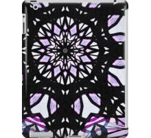 Purple Stained Glass iPad Case/Skin
