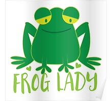 Frog Lady Poster