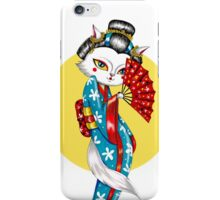 Geisha Meow iPhone Case/Skin