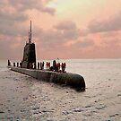 USS PICKERAL - diesel sub - 1972 - My Boat! by Kent Burton