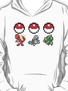 Pokemon Choose your starter! Gen 1 T-Shirt
