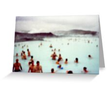 After Party at the Blue Lagoon Greeting Card