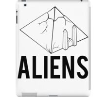 Aliens Ancient Monuments Evidence iPad Case/Skin