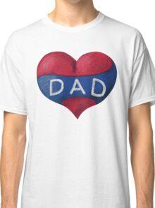 Love Heart Dad Classic T-Shirt