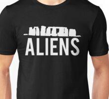 Aliens Ancient Monuments Evidence Unisex T-Shirt