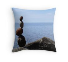 Kadunce Beach Zig Zag Throw Pillow