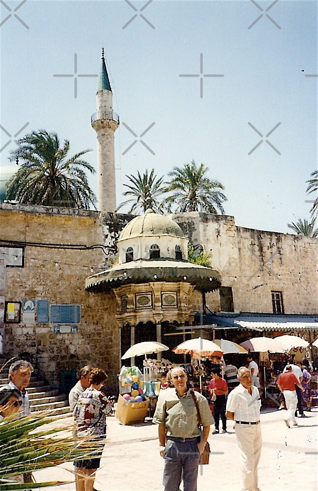 Minaret of Al Jazzar Mosque  by Shulie1
