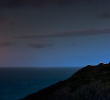 Cape Schanck Lighthouse by Night by Jason Green