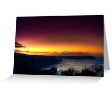 Dawn at Bushrangers Bay Greeting Card