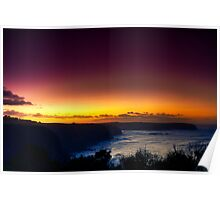 Dawn at Bushrangers Bay Poster