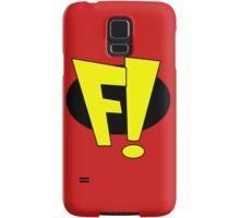 F! Superhero Samsung Galaxy Case/Skin