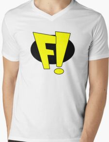 Freakazoid Mens V-Neck T-Shirt