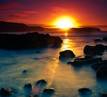 Sunrise at Bushrangers Bay by Jason Green