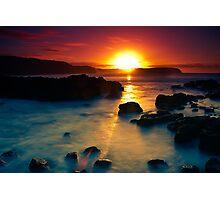 Sunrise at Bushrangers Bay Photographic Print