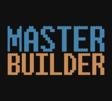 MASTER BUILDER with toy bricks One Piece - Short Sleeve
