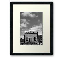 Small Town, Big Sky Framed Print