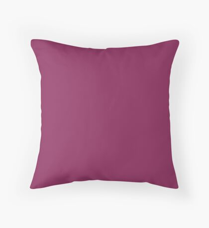 Beautiful Cushions/ Plain Dark raspberry Throw Pillow