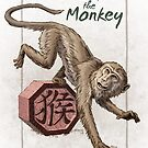 Chinese Zodiac - The Monkey by Stephanie Smith