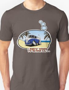 Volkswagen Tee Shirt - I Know Where I'd Rather Be T-Shirt