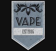 Distressed Vape Est. 1986 Badge (blue) Unisex T-Shirt