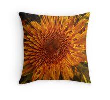 Sunflower Burst Throw Pillow