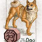 Chinese Zodiac - Year of the Dog by Stephanie Smith