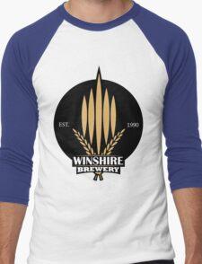 The World's End - Winshire Brewery Men's Baseball ¾ T-Shirt