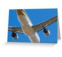 777 Departure Greeting Card