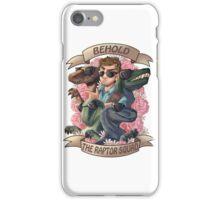 Raptor squad iPhone Case/Skin