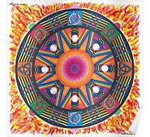 Dharma wheel 2 Poster