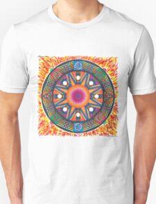 Dharma wheel 2 Unisex T-Shirt