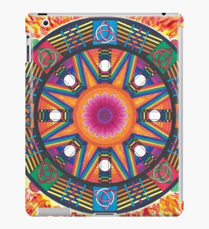 Dharma wheel 2 iPad Case/Skin