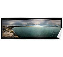 Panoramic Ocean Poster