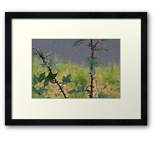 In Praise of Mortisha Framed Print