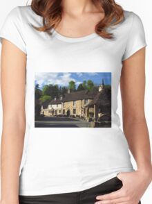 Castle Combe - A Medieval Gem Women's Fitted Scoop T-Shirt