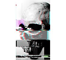 Glitched Death Photographic Print