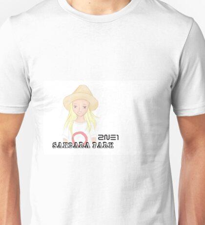 2NE1 Sandara Park ~ Incheon airport Unisex T-Shirt
