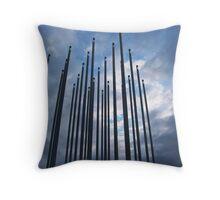 Prairie Wind Throw Pillow