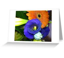 Fab Flowers Flaunting their Fantasticness Greeting Card