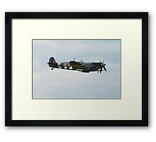 Spitfire fighter plane Framed Print