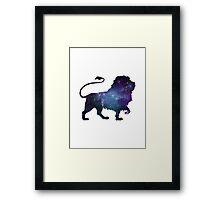 Nebula in a Lion Framed Print