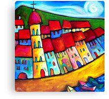 HEAVENLY  CINQUE  TERRE - ITALY    Canvas Print
