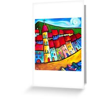 HEAVENLY  CINQUE  TERRE - ITALY    Greeting Card