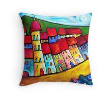 HEAVENLY  CINQUE  TERRE - ITALY    Throw Pillow