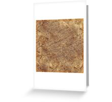 Sandstone, texture, pattern Greeting Card